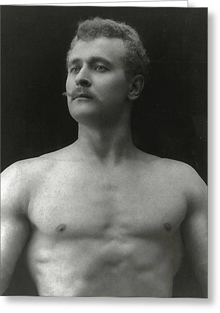 Eugen Sandow Greeting Card by American Photographer