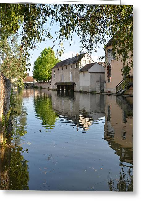 Eure River In Chartres Greeting Card by RicardMN Photography