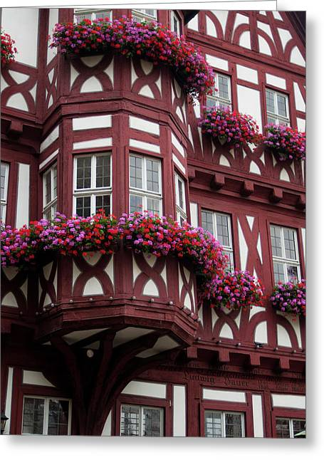 Europe, Germany, Miltenberg Greeting Card by Jim Engelbrecht