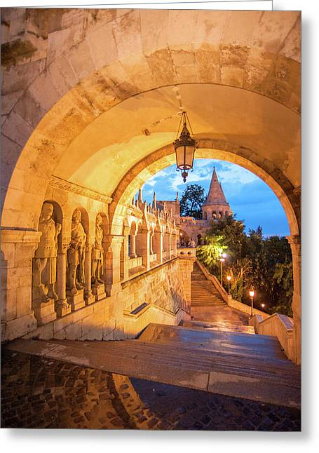 Europe, Hungary, Budapest, Buda Greeting Card