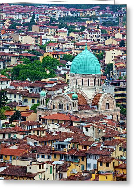 Europe Italy Florence View Greeting Card