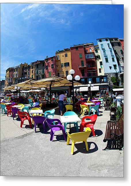 Europe Italy La Spezia Portovenere Greeting Card by Terry Eggers