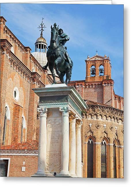Europe, Italy, Venice, The Bartolomeo Greeting Card
