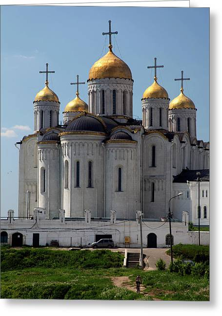 Europe, Russia Vladimir Cathedral Greeting Card