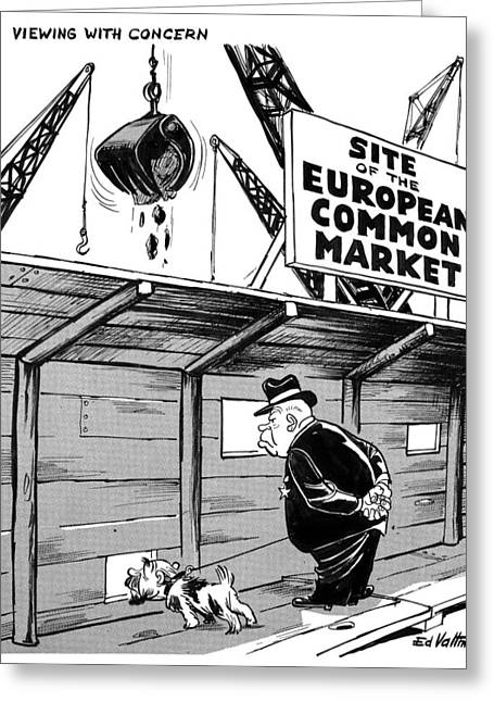 European Common Market Greeting Card