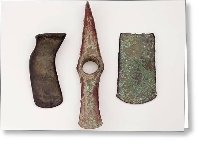 European Copper Age Axes Greeting Card