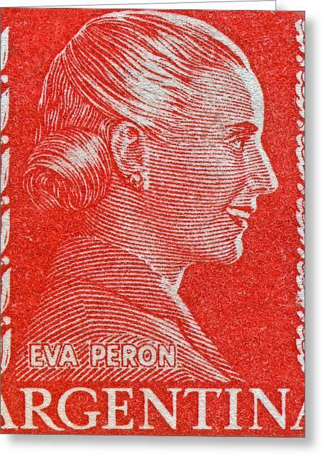 Eva Greeting Card by Bill Owen