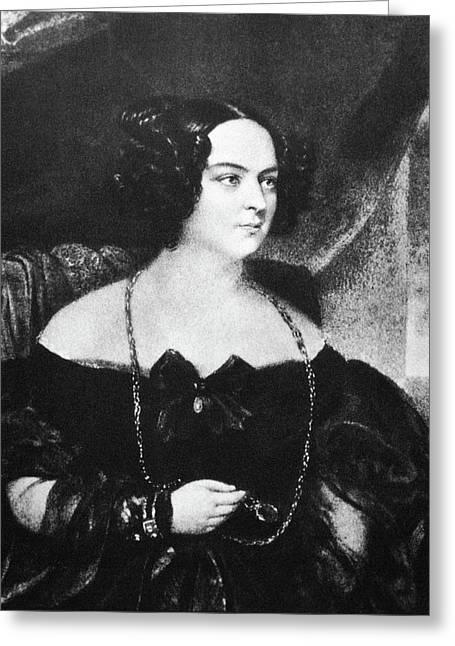Eveline Rzewuska Hanska (1800-1882) Greeting Card by Granger