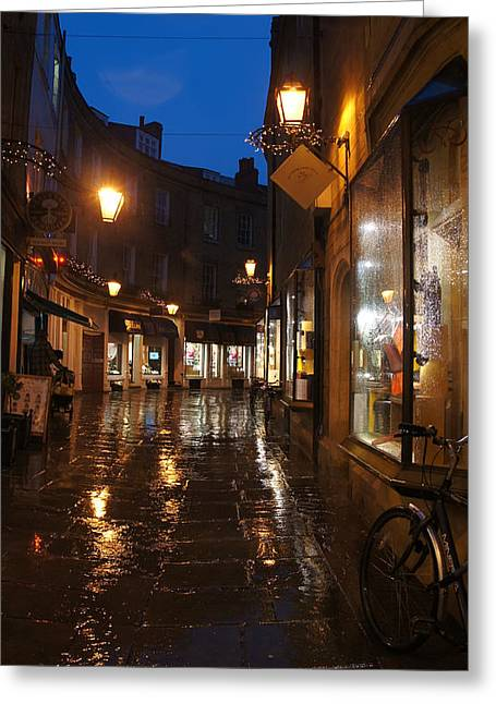Evening After The Rain Greeting Card