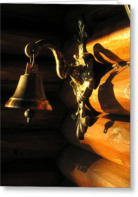 Greeting Card featuring the photograph Evening Bell by Leena Pekkalainen