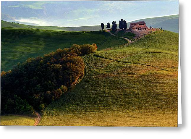 Evening Hills Greeting Card