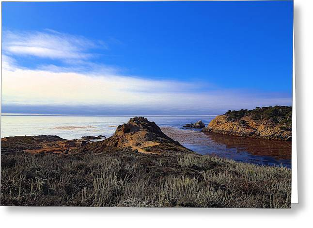 Evening In Monterey Greeting Card
