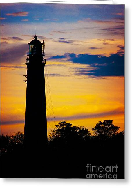 Greeting Card featuring the photograph Evening Light by Ken Johnson