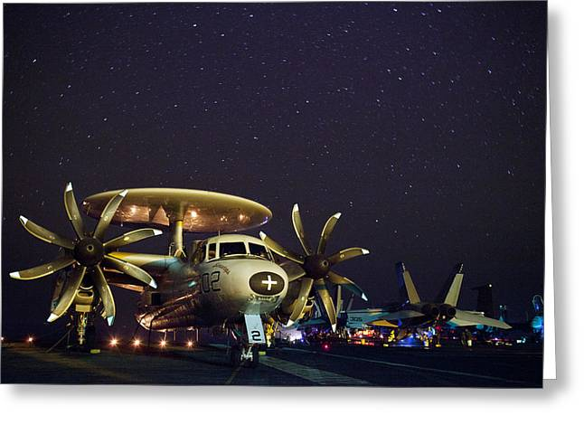 Evening On The Carrier Greeting Card by Mountain Dreams