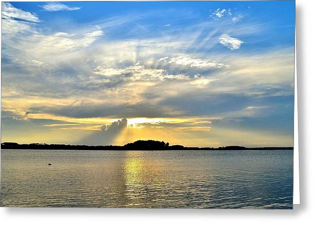 Sunset Visions Greeting Card