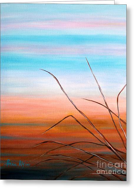 Evening Sky. Soul Collection Greeting Card