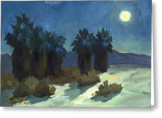 Evening Solitude Greeting Card by Diane McClary