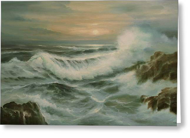 Evening Tide Greeting Card