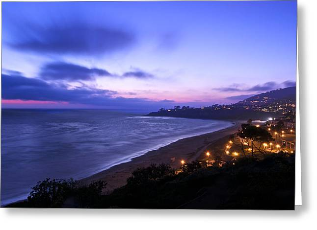 Evenings In Dana Point Greeting Card by Adam West
