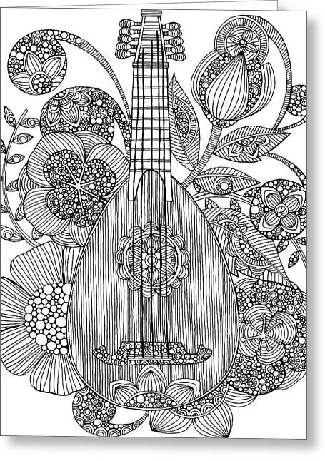 Ever Mandolin Greeting Card