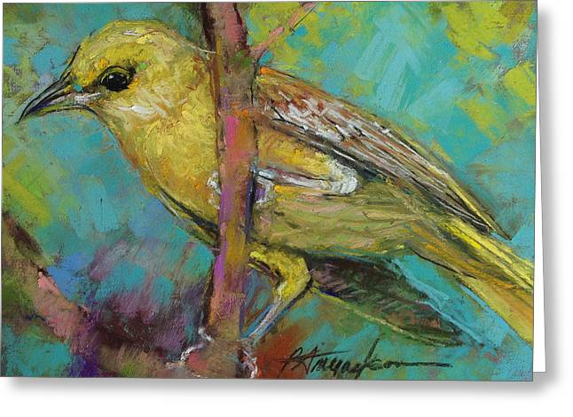 Ever Watchful Greeting Card by Beverly Amundson