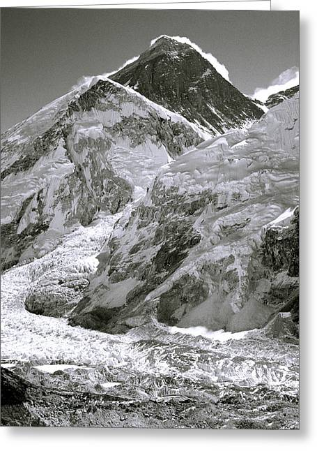 Everest Sunrise Greeting Card by Shaun Higson