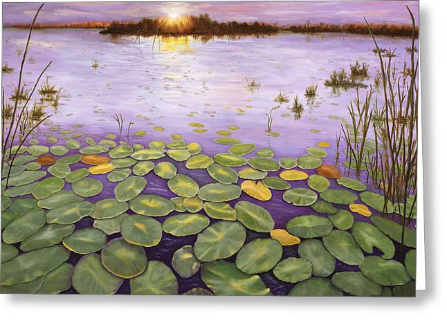 Everglades Evening Greeting Card