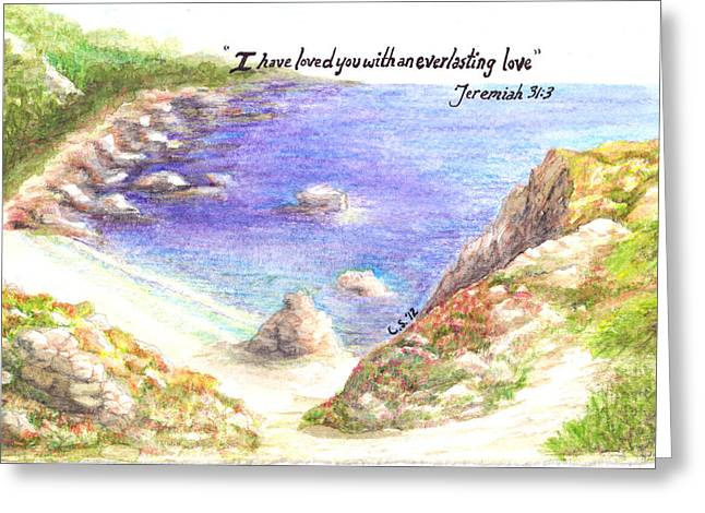 Everlasting Love Greeting Card