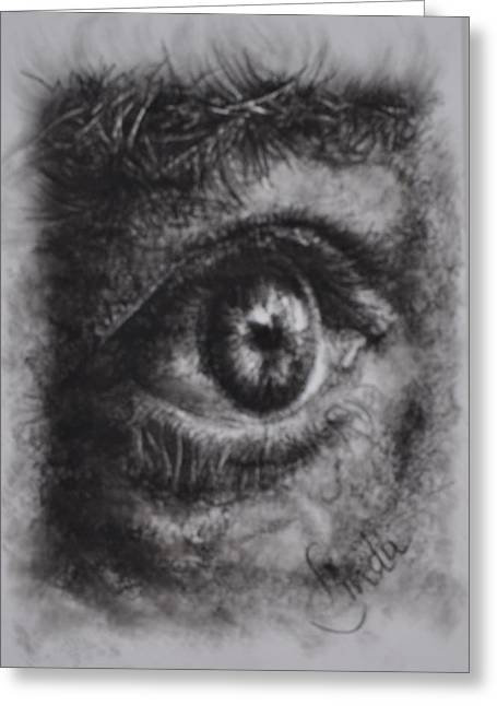 Every Eye Tells Its Own Story Greeting Card