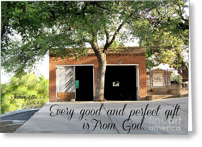 Greeting Card featuring the photograph Every Good And Perfect Gift by Beauty For God