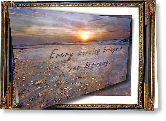 Every Morning Brings A New Beginning II Greeting Card