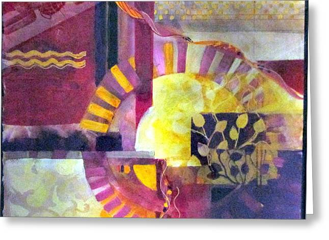 Every Piece Of Art Has The Character Of The Artist Greeting Card by Patricia Mayhew Hamm