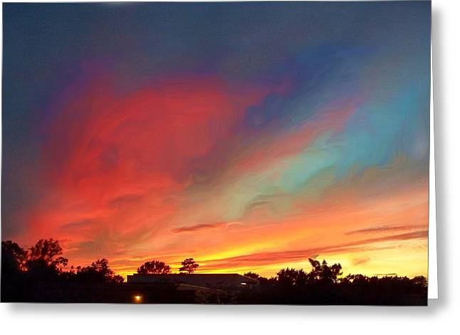 Every Sunset Is A Gift Greeting Card by Rick Todaro