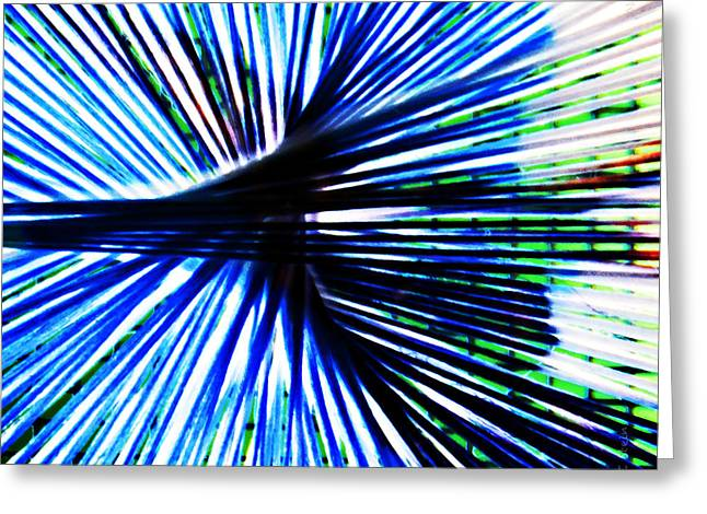 Everyday Abstract 4 Greeting Card by Nancy E Stein