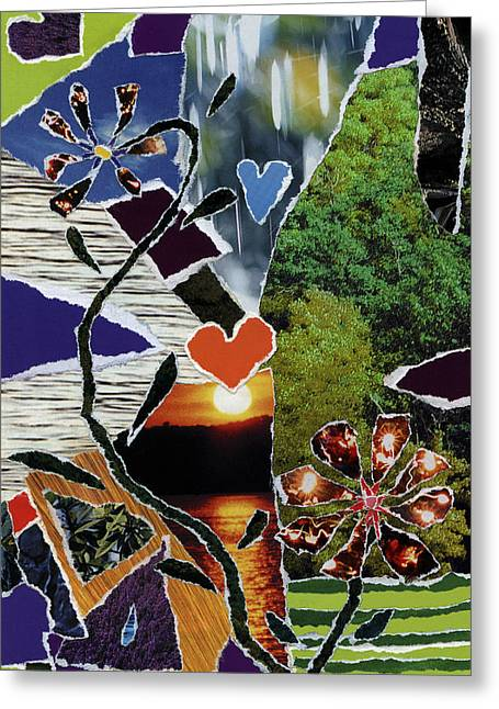 Everyone Love's Their Nature Greeting Card by Kenneth James