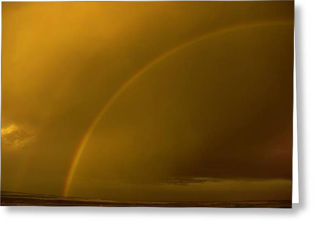 Everyone Needs A Rainbow Greeting Card by Jeff Swan