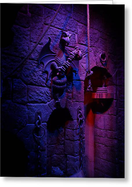 Evil Queen Dungeon Greeting Card by Timothy Ramos