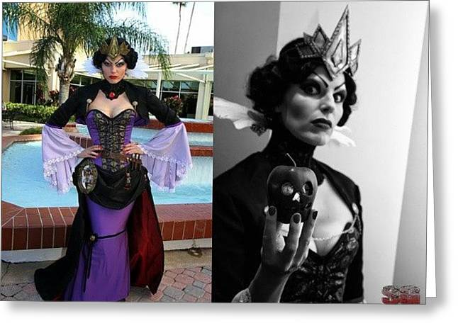 Evil Queen Yet Again Another Great Greeting Card