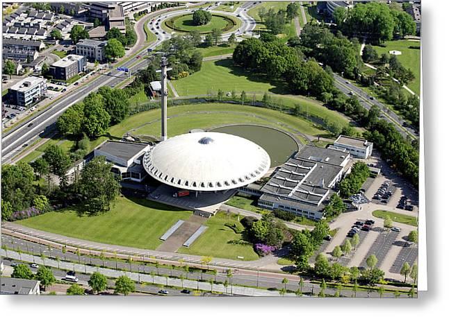 Evoluon Center, Eindhoven Greeting Card by Bram van de Biezen