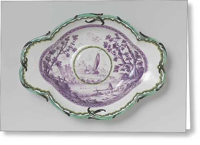 Ewer And Basin, Attributed To Johan Van Kerkhoff Greeting Card