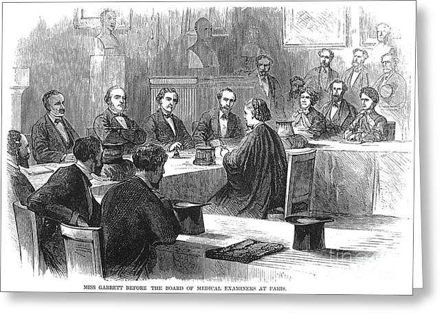 Examination, 1870 Greeting Card by Granger