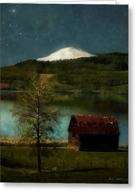Excellence And Peace Greeting Card by RC DeWinter