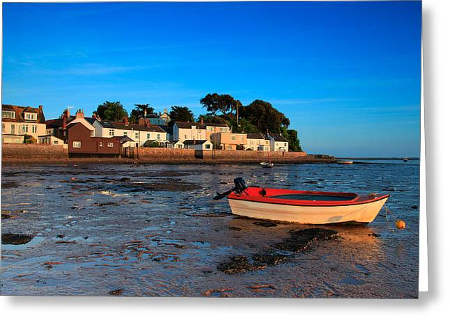 Exe Estuary  Greeting Card by Ollie Taylor
