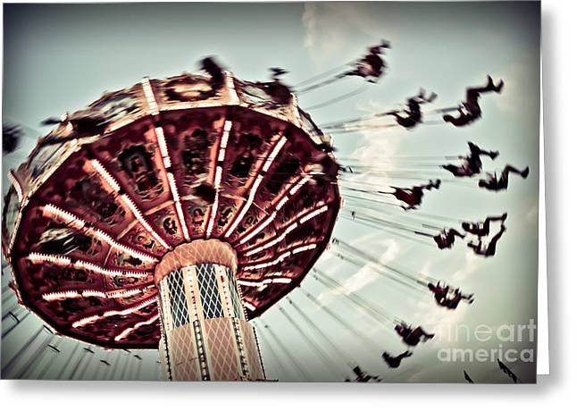 Exhilaration Greeting Card by Colleen Kammerer