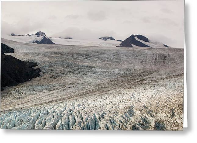 Exit Glacier In The Kenai Fjords Greeting Card