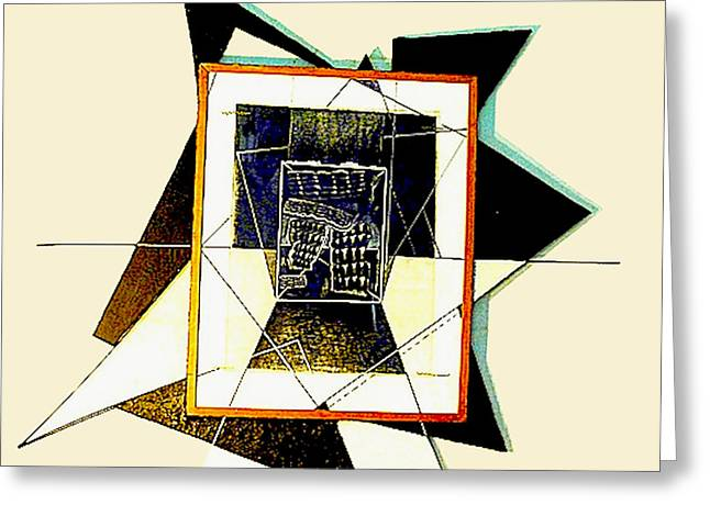 Expanding Graphic Greeting Card by Al Goldfarb