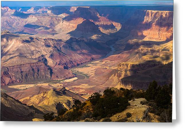 Expanse At Desert View Greeting Card
