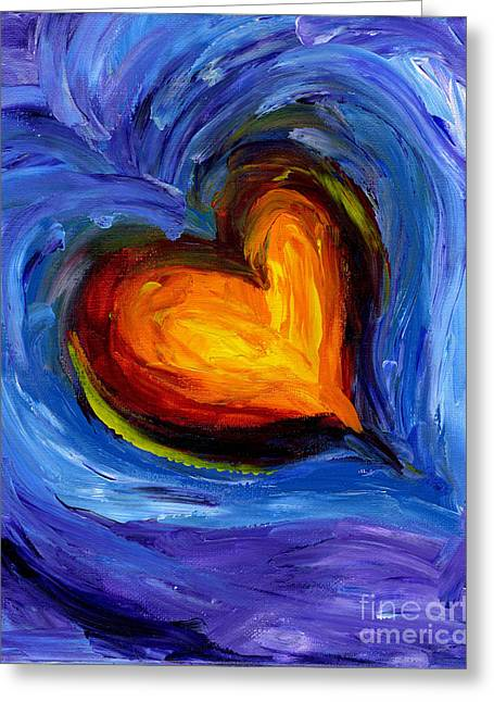 Expansion Of The Heart Greeting Card
