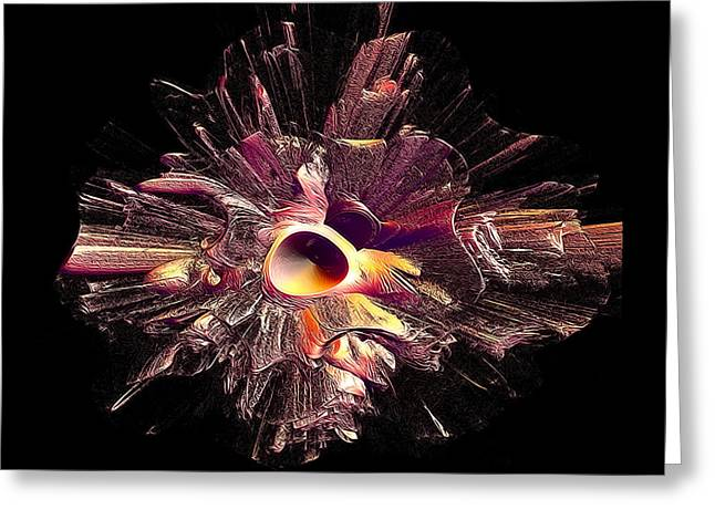 Explode Greeting Card by Betsy Jones