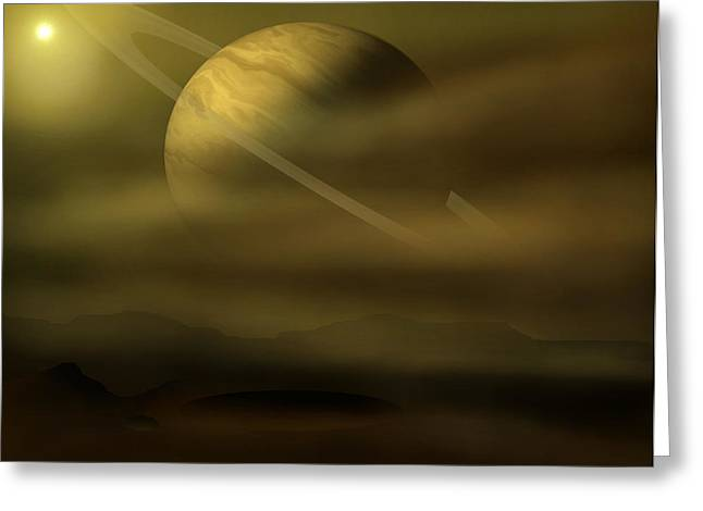 Exploration Greeting Card by Ricky Haug